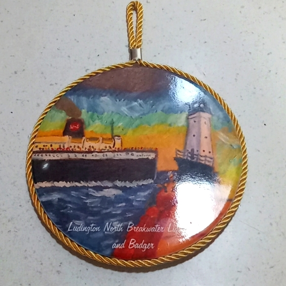 Lighthouse wall hanging